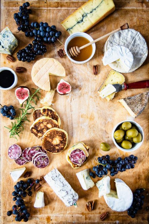 Wytrawne placuszki do deski serów